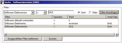 Software-Inventar-Suche-Office